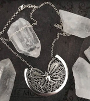 *2ND DROP AVAILABLE NOW* Beautiful Hand Forged Sterling Silver Butterfly Necklace