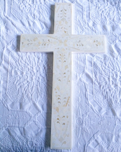 bone inlay cross