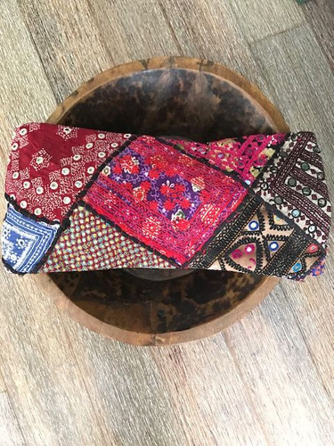 Hand Made Vintage Banjara Cushion 7