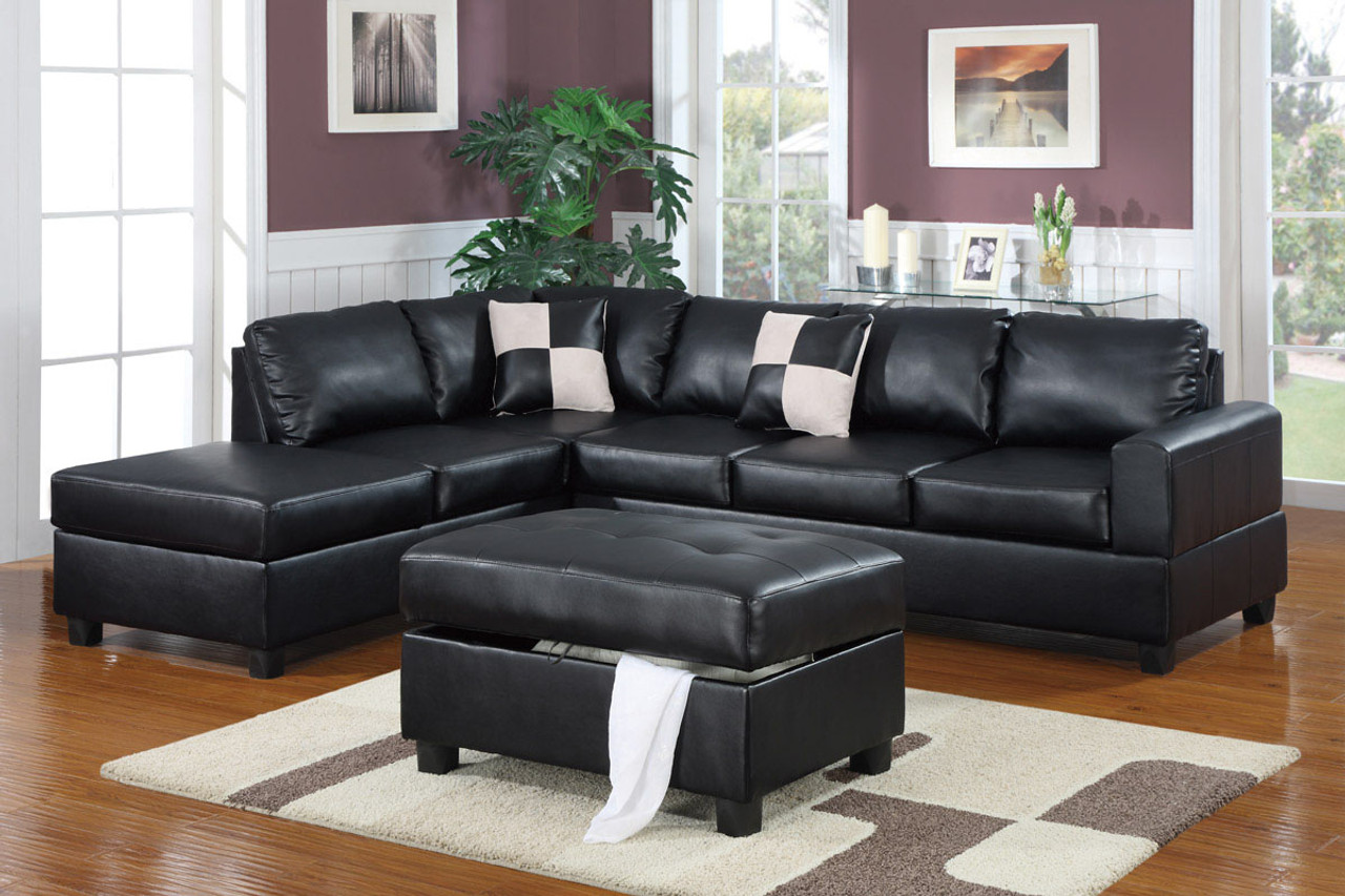 Magnificent 3 Pcs Sectional Ottoman Included Uwap Interior Chair Design Uwaporg