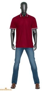 burgundy polo shirts
