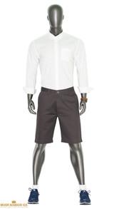 yale blue men's chino shorts