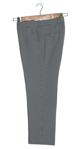 grey houndstooth trouser