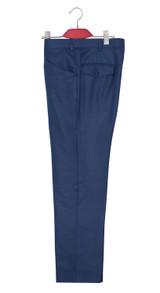 Mod trouser | Robin Williamson essential classic yale blue trouser