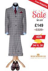 John lennon 60's style brown POW mohair suit, Size 40R Jacket, 34/IL30
