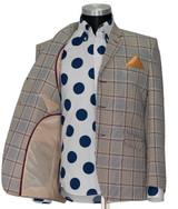 Mod Suit | Ian McLagan 1960's 3 button light brown suit for men