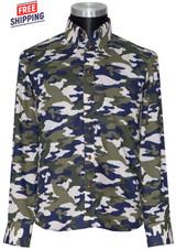 Camo shirt I tailored slim fit long sleeve camo shirt