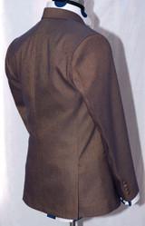 golden purple two tone suit