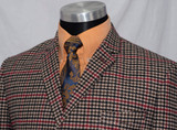 vintage dogtooth suit