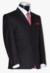 black mod suits