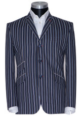 striped boating blazer