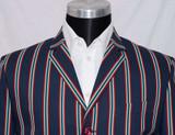 Stripe boating blazer