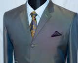 blue two tone suits
