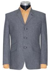 Mod blazer | Original Herringbone 1960s grey mod blazer