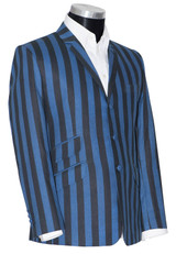 Blue striped boating blazer