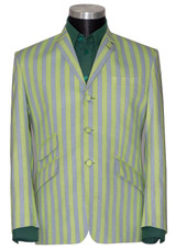 green boating blazer