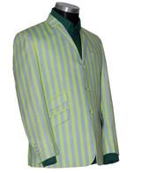 green boating blazer