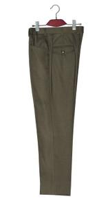 Mod trouser | Original mohair men's slim fit green two tone trouser