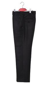Mod trouser | Essential mohair black mod trouser for men tailored