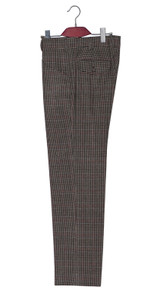Mod Trouser | Michael Gambon classic brown dogtooth Trouser