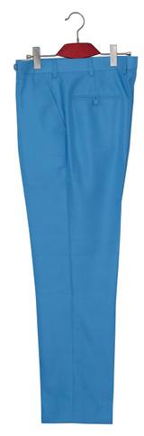 sky blue mod suit