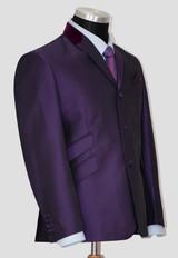 purple tonic suit