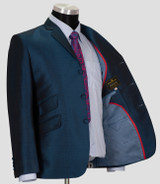 teal tonic suit