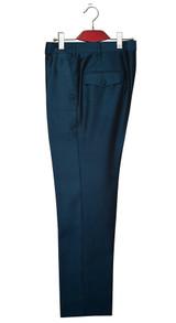 Tonic trouser | 1960s mod style teal mod blazer