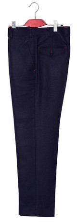 Dark navy blue suit I Essential mohair tailored mod suit