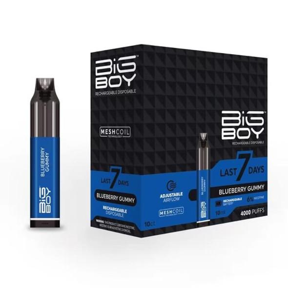 Big Boy Rechargeable Disposable Vape 10 pack