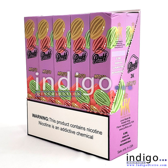 Wholesale pack of 10 Puff Xtra 3k 3,000 Puffs rechargeable disposable vapes mojo
