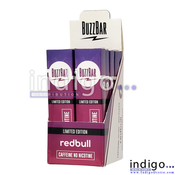 Nutrohaler Buzz Bar Limited Edition Redbull Caffeine Disposable Vapes