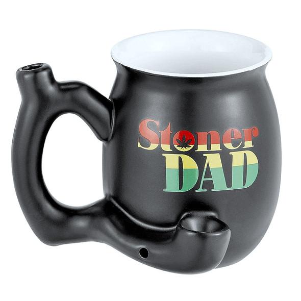 wholesale stoner dad smoking pipe mug