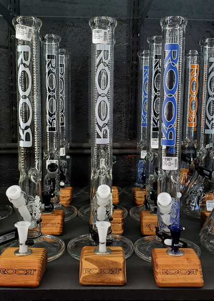 ROOR Intro Collector Series | WHOLESALE Glass Bongs | Smoke Shop Supply