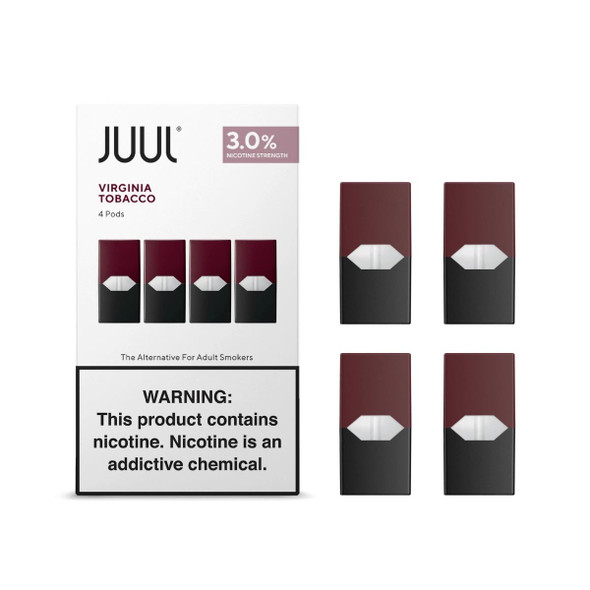 JUUL Virginia Tobacco Pods (for CALIFORNIA)