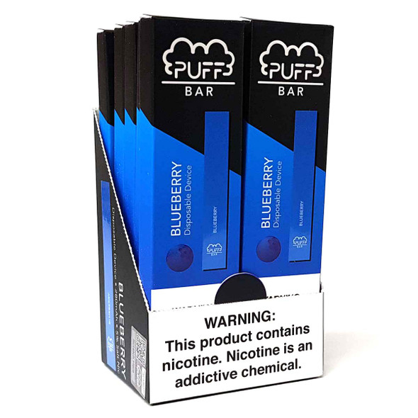 PUFF Bar Disposable Vape - Blueberry (10 pack) 4
