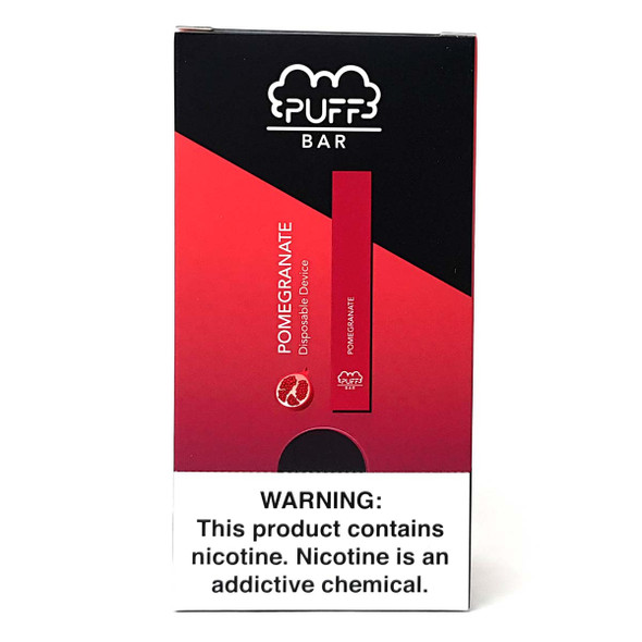 PUFF Bar Disposable Vape - Pomegranate (10 pack) 1