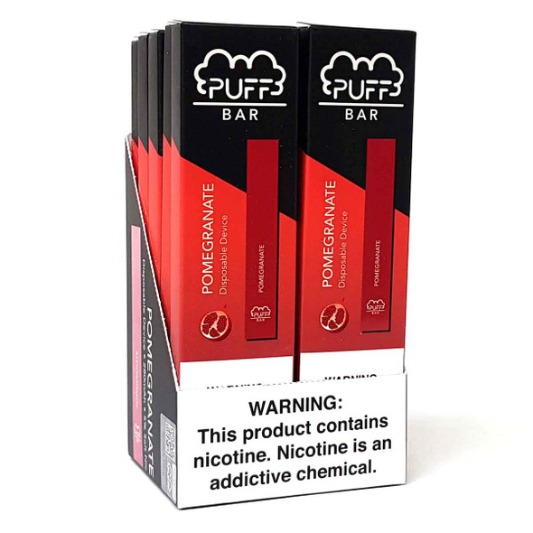 PUFF Bar Disposable Vape - Pomegranate (10 pack) 5