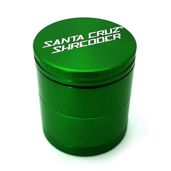Santa Cruz 4-Piece Shredder Grinder 1 ⅝ Inch green
