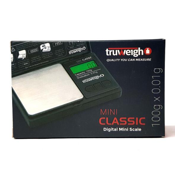Truweigh Lynx Digital Mini Scale 100g x 0.01g front