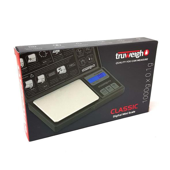 Truweigh Classic Digital Mini Scale 1000g x 0.1g front