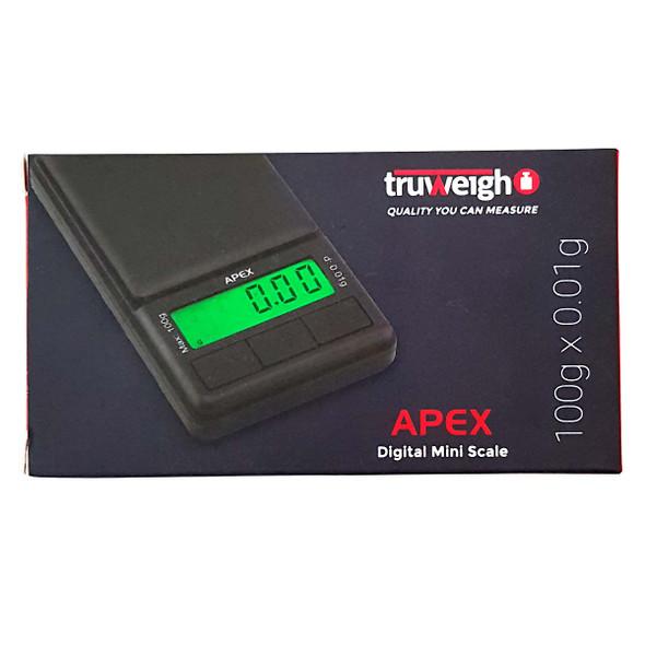 Truweigh Apex Digital Mini Scale 100g x 0.01g