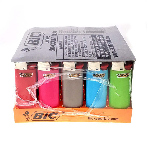 Wholesale Mini Bic Lighters 50 pack
