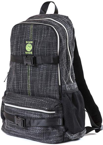 Dime Bags Skate Pack Hemp Material Backpack side black