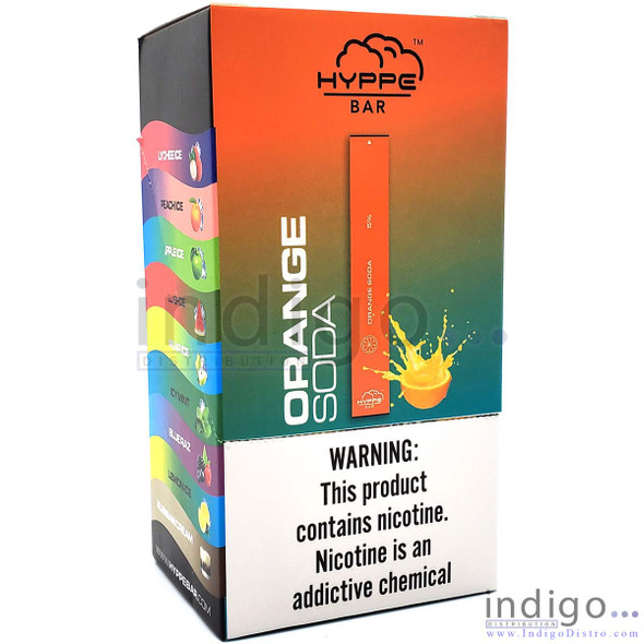 Hyppe Disposable Vape - Wholesale Box of 10 - Orange Soda