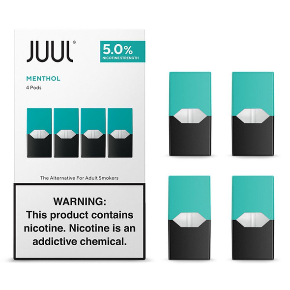 JUUL Menthol Pods (for CALIFORNIA)