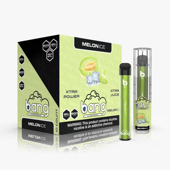Bang XL Disposable Vape  600 Puffs - Melon Ice