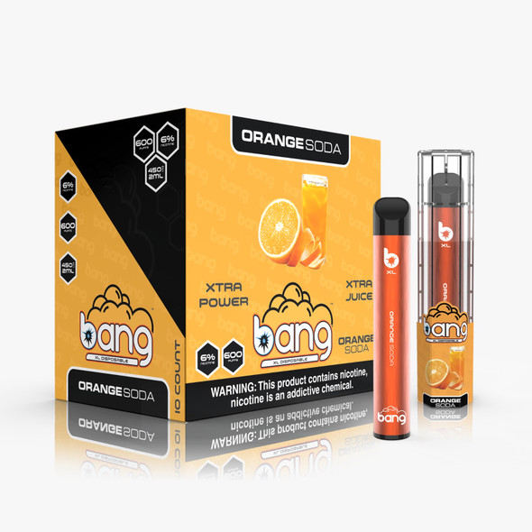 Wholesale Bang XL Disposable Vape 600 Puffs - Orange Soda