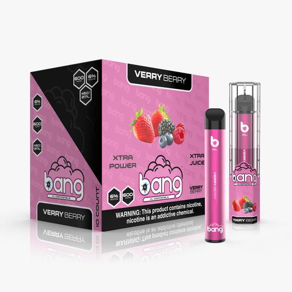Wholesale Bang XL Disposable Vape 600 Puffs - Very Berry