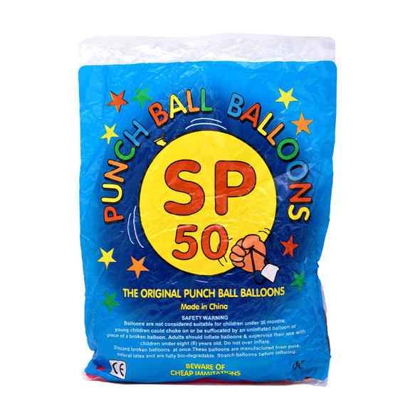 Wholesale Punch Ball Balloons 50 pack
